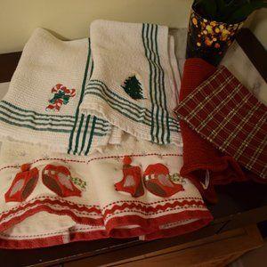 Christmas Towels- Various